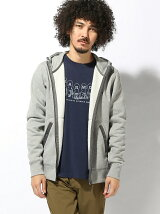 (M)Sweat Zip Parka