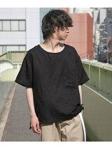 WAVE LINENシャツTシャツ