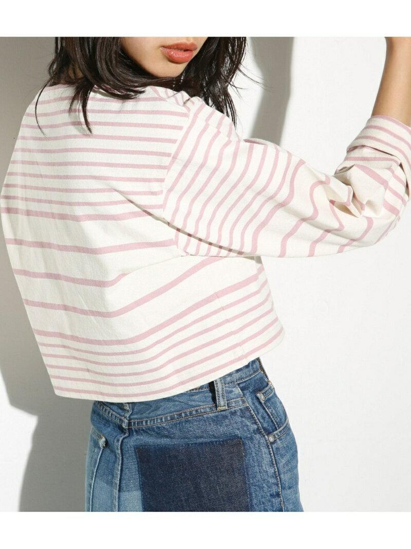 【SALE/60%OFF】SLY MARINE BORDER TOPS スライ カットソー【RBA_S】【RBA_E】