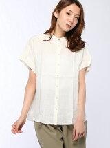 (W)スタンドカラーシャツ・ブラウスP