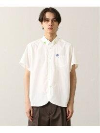 FRAPBOIS プレフラシャツ フラボア シャツ/ブラウス 半袖シャツ ブラック ホワイト【送料無料】
