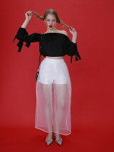 organdy volume pants