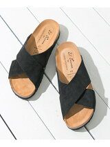 EL TIERRA×URBAN RESEARCH SUEDE SANDALS