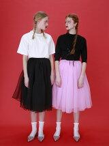 organdy volume skirt
