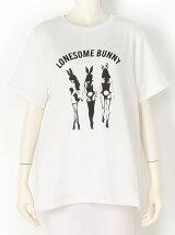 BUNNYプリントTシャツ