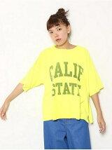 CALIF STATE BIGネオン Tシャツ