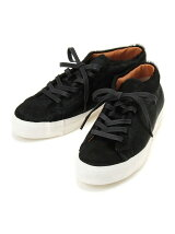 hair calf sneakers