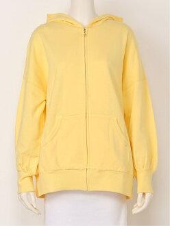 franche lippee franche lippee/ honey bear parka franc Schlippe cut-and-sew parka yellow navy white