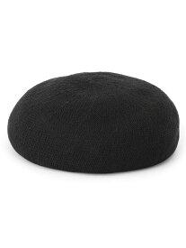 【SALE/50%OFF】BEAMS HEART BEAMS HEART / コットン サーモ ベレー帽 ビームス ハート 帽子/ヘア小物 ベレー帽 ブラック ブラウン ホワイト