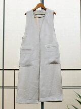 Linen Stitch Vest