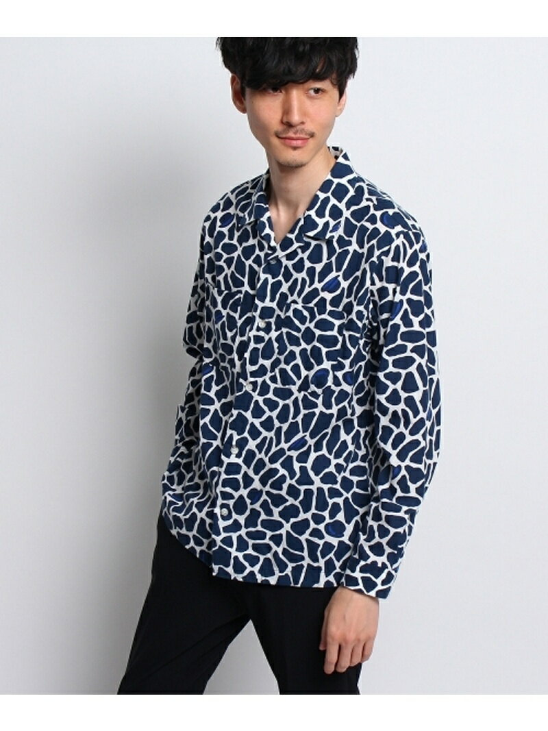 【SALE/40%OFF】TAKEO KIKUCHI ボーラージラフオープンカラーシャツ タケオキクチ シャツ/ブラウス【RBA_S】【RBA_E】【送料無料】