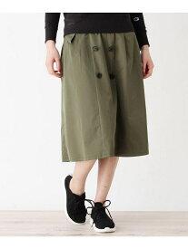 【SALE/29%OFF】grove ロングトレンチスカート(SOLOTEX(R)) グローブ スカート スカートその他 カーキ ネイビー