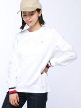 (W)シグニチャーストライプセーター