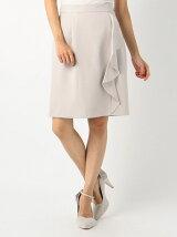 ラッフルタイトスカート
