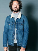 DENIM BOA QUILTING G-JKT