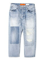 CROPED DENIM PANTS