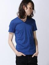 (M)無地Vネック半袖Tシャツ・カットソーSPU