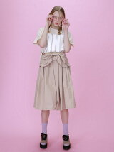 taffeta ribbon skirt