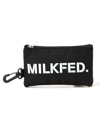 MILKFED. CLEAR POCKET POUCH ミルクフェド バッグ