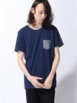 (M)ニットポケット半袖Tシャツ・カットソーUDDW2