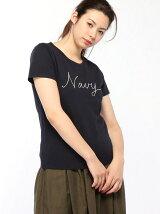 30コーマ天竺 Logo Tシャツ