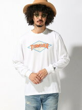 THRASHER /NEWERA THRASHER ロンT