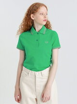 【FREDPERRY】TWINTIPPEDポロ(ladies)