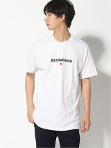PLEASURES/SHINE EMB TEE