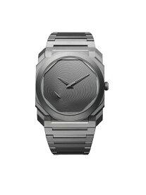 BVLGARI オクト オリジナーレ ウォッチ ブルガリ ファッショングッズ 腕時計 グレー【送料無料】