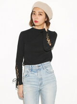 LACE UP SLEEVE TOPS
