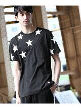Dickies for tk.TAKEO KIKUCHI 切替ポケットTシャツ