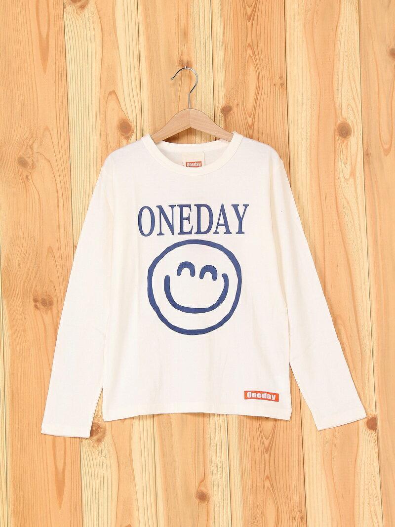 oneday oneday/(K)長袖Tシャツ ヘッドロック カットソー