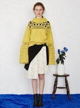 クロシェミックスセーター
