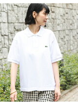 LACOSTE * BEAMS BOY / 別注 ヘビーピケ ポロシャツ