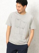 BC BT 4BOX LOGO PRINT Tシャツ