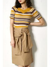腰巻きリボンスカート