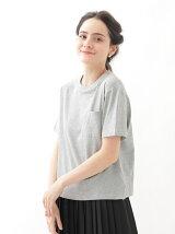 ドロップショルダーポケットTシャツ