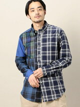 【別注】<jipijapa(ヒピハパ)> CHECK CRAZY SHIRT/シャツ