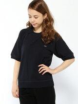 (W)鹿の子パイルプルオーバースウェットシャツ