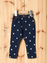 LONG PANT STAR EMBROIDERY(12M~3T)