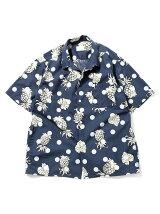 【WEB限定】BEAMS / NEW STANDARD オーバープリント アロハシャツ