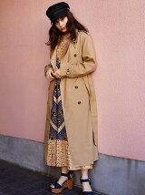 EDIE LONG TRENCH COAT