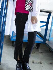 【SALE/60%OFF】ZIDDY フロント スリット フレア カラー パンツ(130cm~160cm) ベベ オンライン ストア パンツ/ジーンズ フルレングス ブラック グリーン