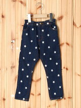 LONG PANT STAR EMBROIDERY(4T~7T)