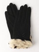 JC レオパード ファーグローブ / 手袋 / タッチパネル対応 / プレゼント / ギフト / 贈り物 / 小物 / スマホ対応