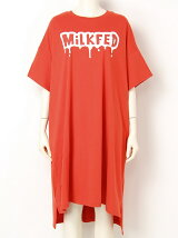 DRIP LOGO S/S BIG TEE DRESS