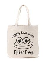 fluke frog/(U)フロッグフロッグトート