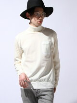 polyester jersey × cash wool turtle