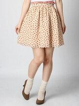 lilyプリントスカート