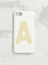 【予約】【別注】<Hashibami>アルファベットプリント iPhone7ケース